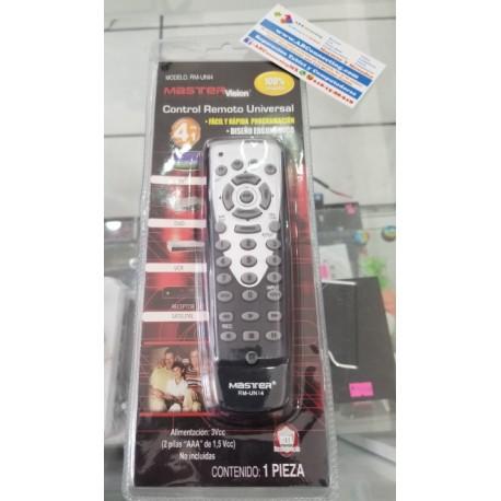 Control universal para TV análoga