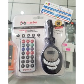 Transmisor mp3 USB hasta 16gb
