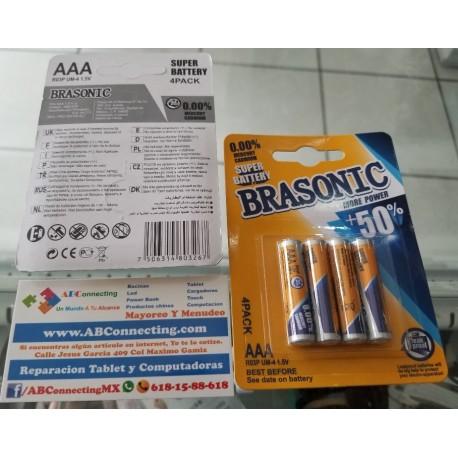 Pack 4 batería AAA