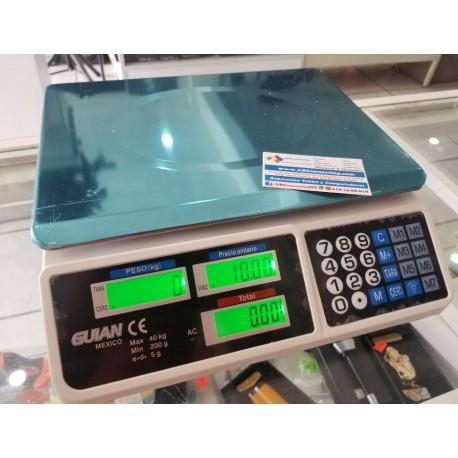 Bascula Digital 40 Kilos Max Recargable
