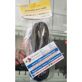 Cable 6.5 a 6.5 1.8m 080-040