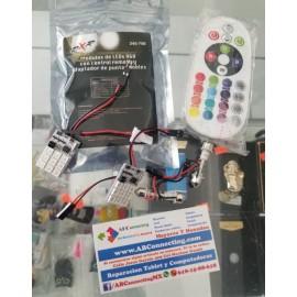 Modulo LED rgb con adaptador y control 245-756