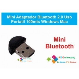 Mini Adaptador Bluetooth 2.0 Usb Portatil Usb