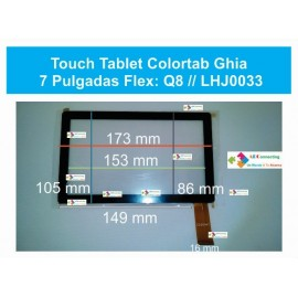 Touch Tablet Colortab Ghi China 7 Pulgadas Flex: Q8 Lhj0033