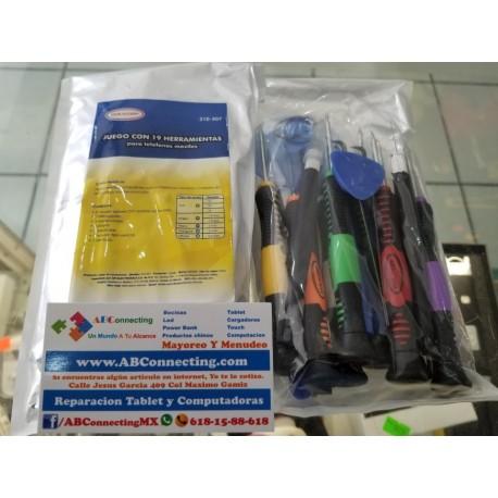 Juego 19 herramientas 310-507