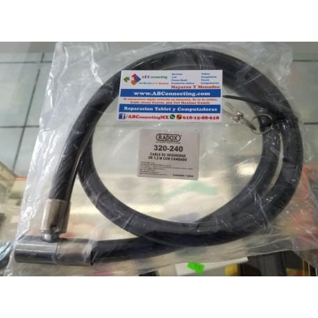 Cable con candado de seguridad bicicleta 320-240