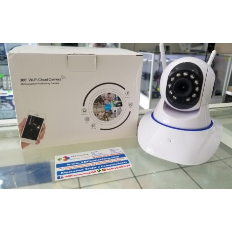 Cámara ip, controla vía cel 360