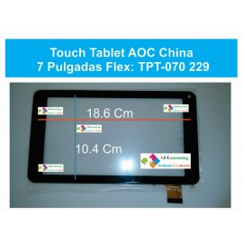 Touch Tablet Aoc China 7 Pulgadas Flex: Tpt-070 229