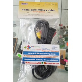 Cable rca 3.5m 080-050