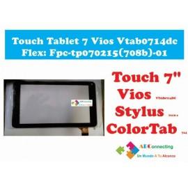 Touch Tablet 7 Vios Vtab0714dc Flex: Fpc Tp070215(708b) 01