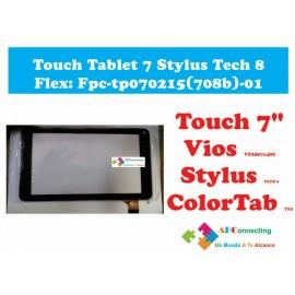 Touch Tablet 7 Stylus Tech 8 Flex: Fpc Tp070215(708b) 01