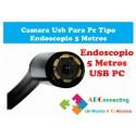 Endoscopio Boroscopio Camara De Inspeccion 5mts