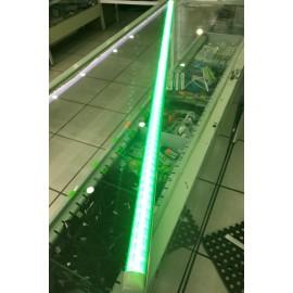 Lampara De Led Integrada 20W 1.20m Verde