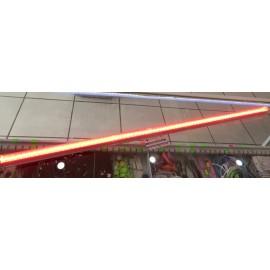 Lampara De Led Integrada 20W 1.20m Rojo