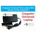 Cargador Universal Laptop Impresoras Y Mas 8 Puntas