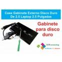 Case Gabinete Externo Disco Duro De 2.5 Laptop 2.5 Pulgadas