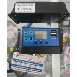Controladora solar 30A