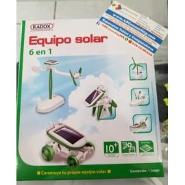 Equipo kit solar Nave