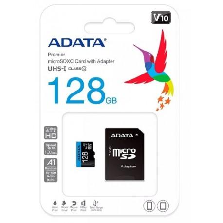 Memoria Micro Sd 128gb Adata Clase 10
