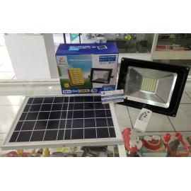Reflector Led 30W Con Celda Solar