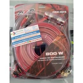 Kit instalación auto 800w